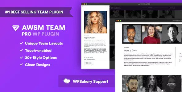 Download The Team Pro v1.7.2 - Team Showcase WordPress Plugin Free / Nulled
