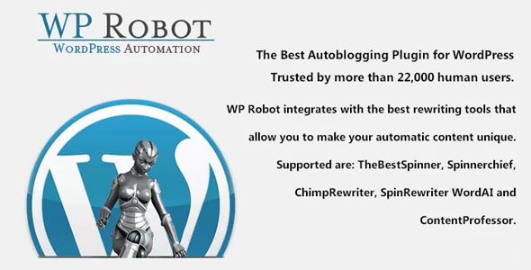 Download WP Robot v5.37 - The best autoblogging plugin for WordPress Free / Nulled