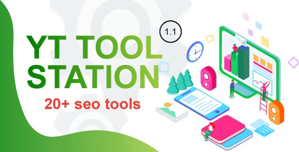 Download YT Tool Station v1.1 - PHP Script With Admin Panel Free / Nulled