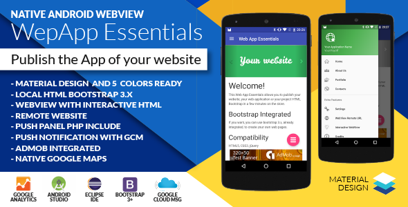 Download Android Web App v2.8.0 - + Push Web Panel Free / Nulled