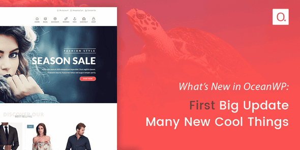 Download OceanWP v1.8.2 - + Core Extensions Bundle Free / Nulled