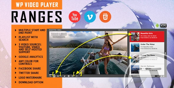 Download RANGES v1.0.0 - Video Player With Multiple Start and End Points - WordPress Plugin Free / Nulled