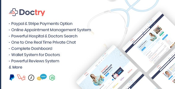 Download Doctry v1.4 - Doctors and Hospitals Listing Theme Free / Nulled