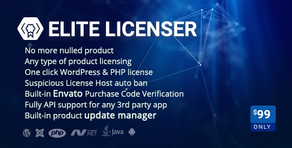 Download Elite Licenser v2.1 - Software License Manager for WordPress Free / Nulled