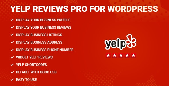 Download Yelp Reviews Pro v1.9 - for WordPress Free / Nulled