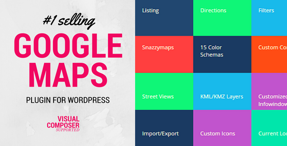 Download Advanced Google Maps v5.2.2 - Plugin for Wordpress Free / Nulled