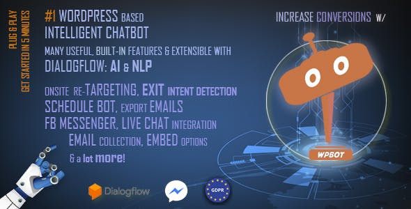 Download ChatBot for WordPress v9.7.5 - WP Plugin Free / Nulled