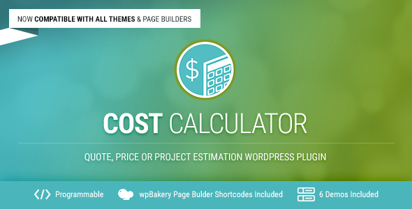Download Cost Calculator v2.2.5 - WordPress Plugin Free / Nulled