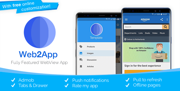Download Web2App v3.4.2 - Quickest Feature-Rich Android Webview Free / Nulled