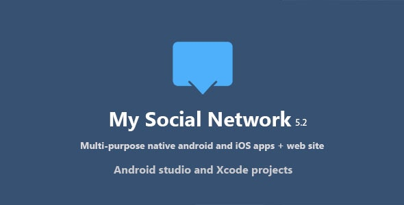 Download My Social Network v5.2 - (App and Website) - nulled Free / Nulled