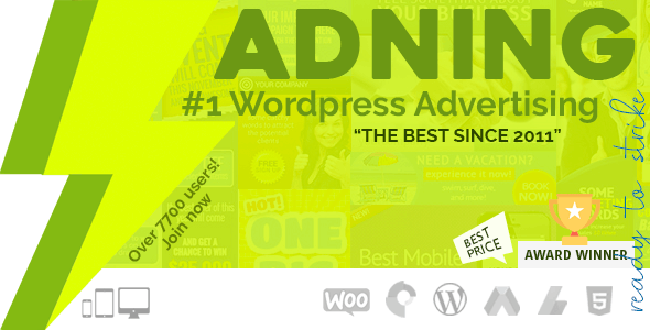 Download Adning Advertising v1.5.0 - All In One Ad Manager Free / Nulled