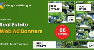 Download Real Estate Banners v1.0 - Google Web Designer Free / Nulled