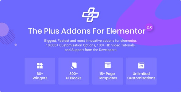 Download The Plus v3.3.0 - Addon for Elementor Page Builder WordPress Plugin Free / Nulled