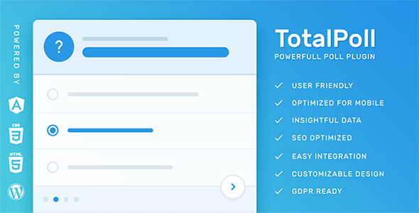 Download TotalPoll Pro v4.1.5 - WordPress Poll Plugin Free / Nulled
