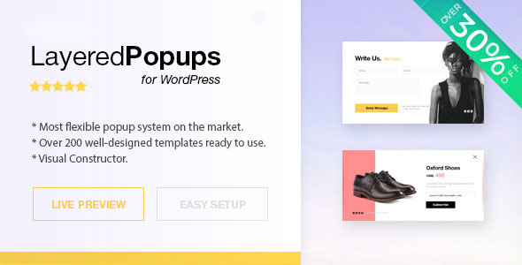 Download Layered Popups  v6.64 - for WordPress Free / Nulled