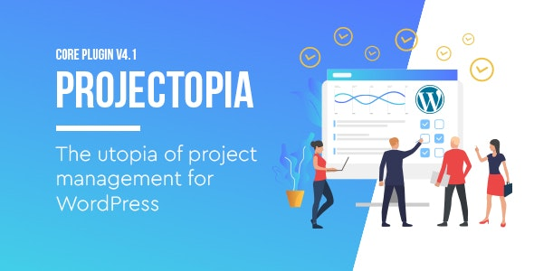 Download Projectopia v4.3.3 - WordPress Project Management Plugin Free / Nulled