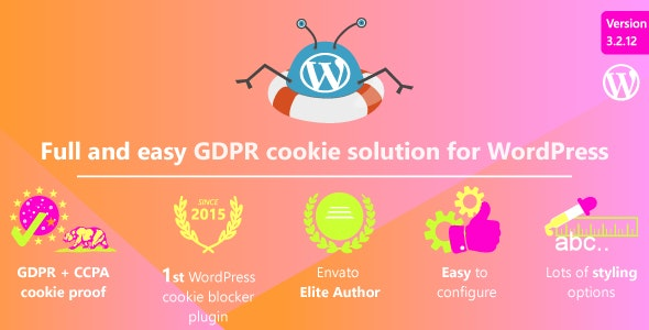 Download WeePie Cookie Allow v3.2.12 - Easy & Complete Cookie Consent Free / Nulled