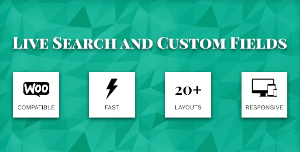 Download Live Search and Custom Fields v2.6.2 - WP Plugin Free / Nulled
