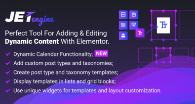 Download JetEngine v2.2.7 - Adding & Editing Dynamic Content Free / Nulled