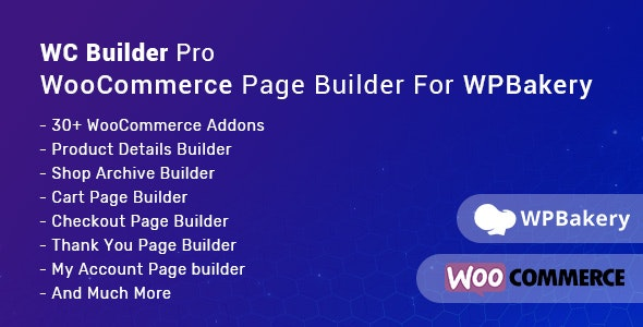 Download WC Builder Pro v1.0.5 - WooCommerce Page Builder for WPBakery Free / Nulled