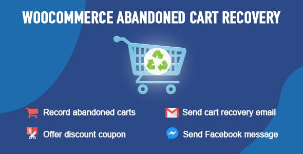 Download WooCommerce  v1.0.5.4 - Abandoned Cart Recovery Free / Nulled