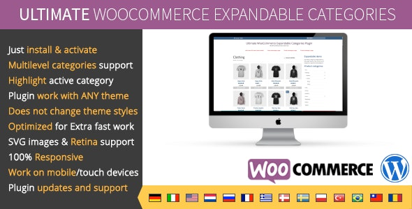 Download Ultimate WooCommerce v1.1 - Expandable Categories Free / Nulled