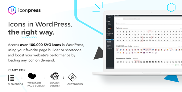 Download IconPress Pro v1.4.7 - Icon Management for WordPress Free / Nulled