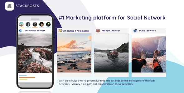 Download Stackposts v7.0.1 - Social Marketing Tool - nulled Free / Nulled