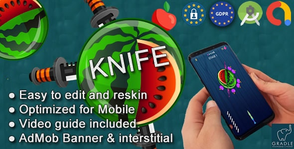 Download Knife v5 - (Admob + GDPR + Android Studio) Free / Nulled