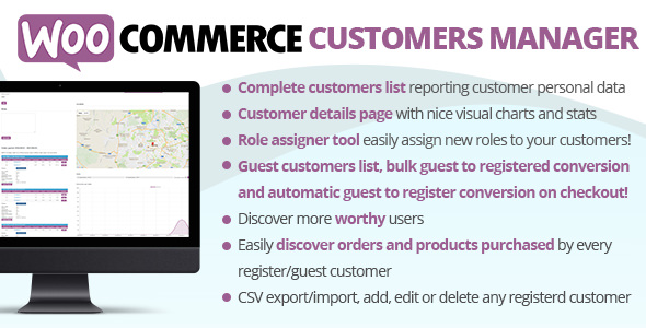 Download WooCommerce v25.2 - Customers Manager Free / Nulled