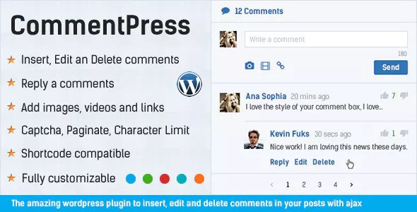 Download CommentPress  v2.7.0 - Ajax Comments, Insert, Edit and Delete Free / Nulled