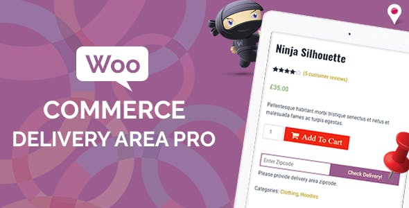 Download WooCommerce v2.0.7 - Delivery Area Pro Free / Nulled