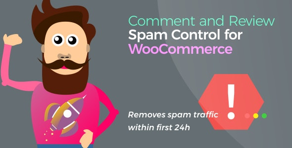 Download Comment and Review Spam Control v1.1.8 - for WooCommerce Free / Nulled