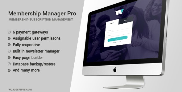 Download Membership Manager v4.2 - PRO Free / Nulled