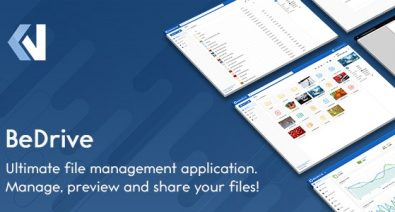 Download BeDrive v2.2.1 - File Sharing and Cloud Storage Free / Nulled