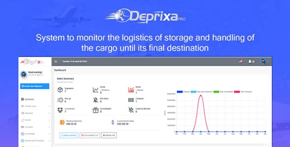 Download Courier Deprixa Pro v3.3.0.1 - Courier System Free / Nulled