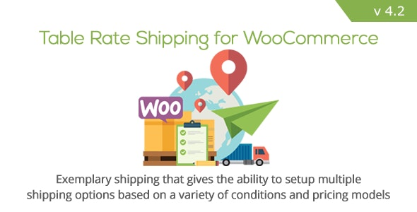 Download Table Rate Shipping v4.2.1 - for WooCommerce Free / Nulled