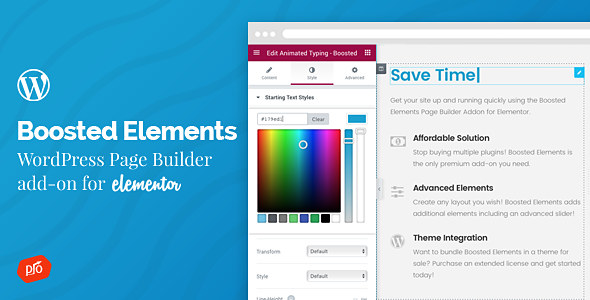 Download Boosted Elements v3.4 - Builder Add-on for Elementor Free / Nulled