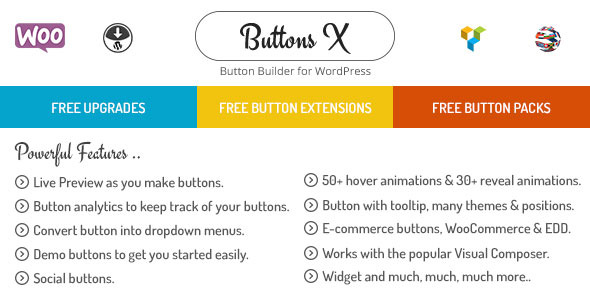 Download Buttons v1.9.72 - Powerful Button Builder for WordPress Free / Nulled