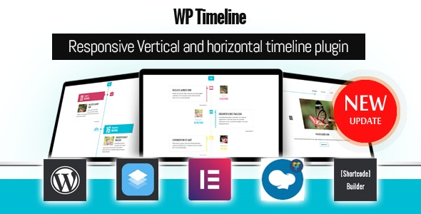 Download WP Timeline v3.5 - Responsive timeline plugin Free / Nulled