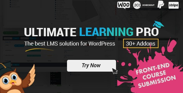Download Ultimate Learning Pro v2.4 - WordPress Plugin Free / Nulled