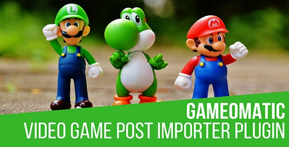 Download Gameomatic v1.4.1 - Giant Bomb Automatic Post Generator Plugin for WordPres Free / Nulled