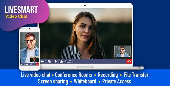 Download LiveSmart Video Chat v2.0.4 - Nulled Free / Nulled