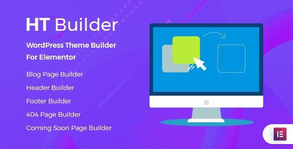 Download HT Builder Pro v1.0.4 - WordPress Theme Builder for Elementor Free / Nulled