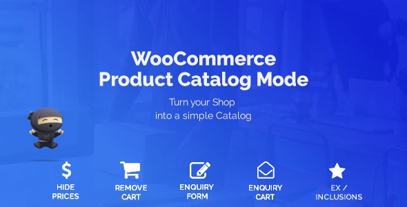 Download WooCommerce Product Catalog Mode v1.6.9 - & Enquiry Form Free / Nulled
