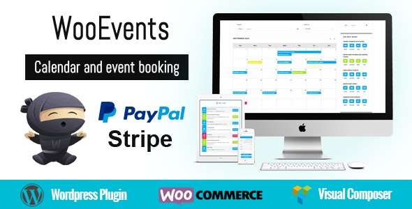 Download WooEvents v3.6.1 - Calendar and Event Booking Free / Nulled