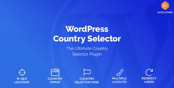 Download Wordpress Country Selector v1.6.0 - WP Plugin Free / Nulled