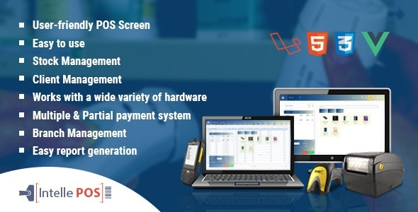 Download Intelle POS With Inventory System v3.0.0 - nulled Free / Nulled