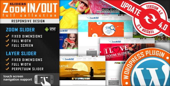 Download Responsive Zoom In/Out Slider v4.2.9 - WordPress Plugin Free / Nulled
