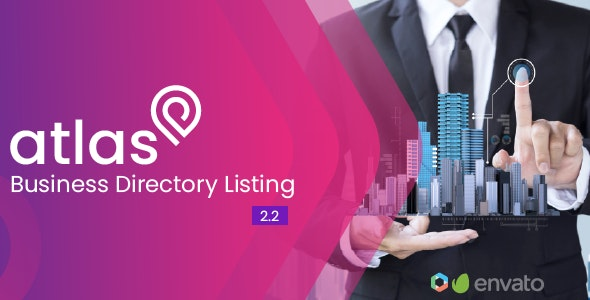 Download Atlas Business Directory Listing v2.2 - nulled Free / Nulled